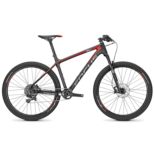 RAVEN 27 5,0 CARBON (RED/GREY)