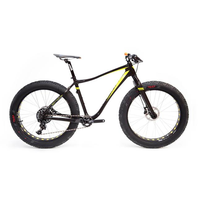 Fat Bike Black/Yellow Fluo DI