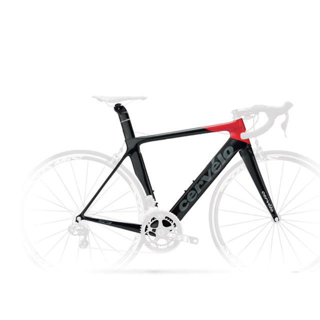 S3 FRAMESET black/red