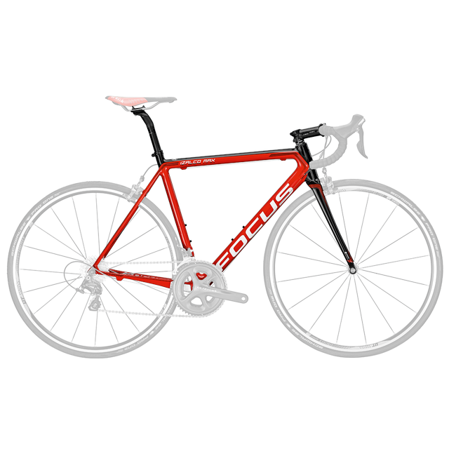 IZALCO MAX FRAMESET RED/BLACK