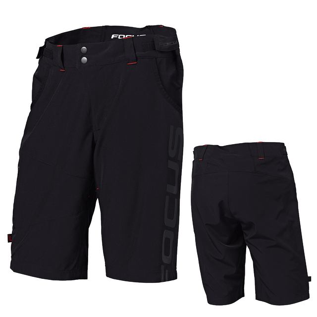 FOCUS TOURING SHORTS MEN RED/BLACK