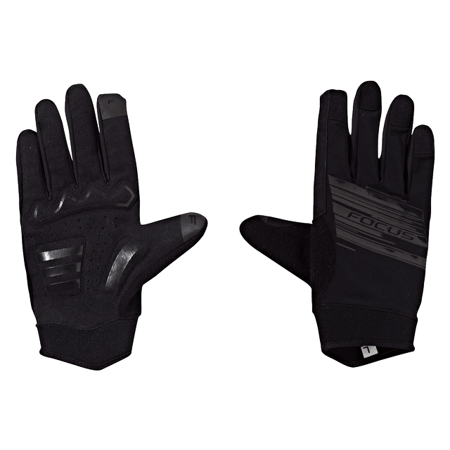 FOCUS TOURING GLOVES BLACK/BLACK