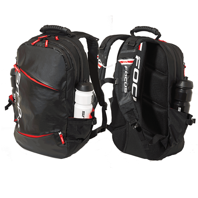 FOCUS BUSINESS BACKPACK 26L BLACK/ WHITE/ RED