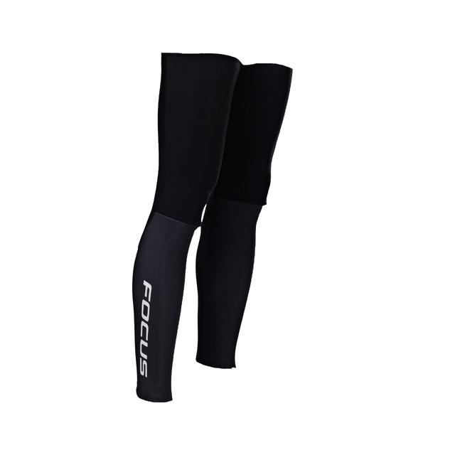 FOCUS LEG WARMERS BLACK/WHITE