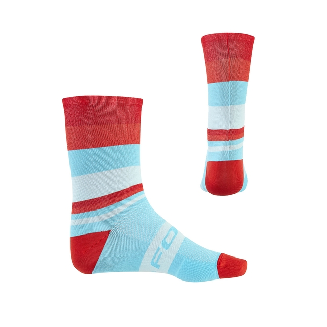 FOCUS FREAKY SOCKS 16CM 5 PAIA CORAL/TURQUOISE