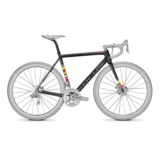 IZALCO MAX DISC Di2 FRAMESET BLACK FREESTYLE