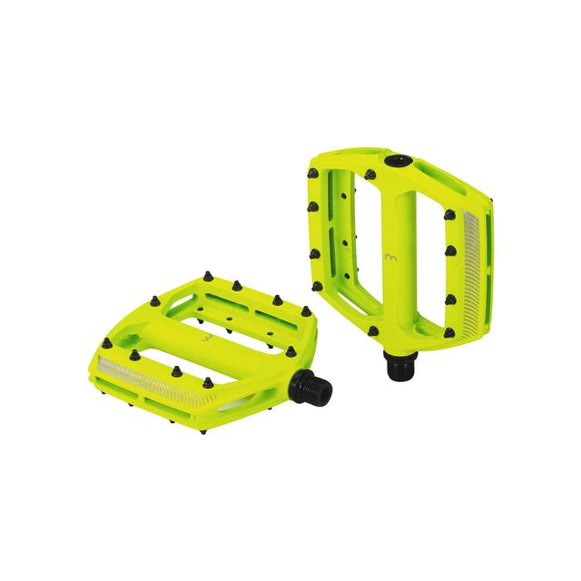 pedals CoolRide mtb neon yellow