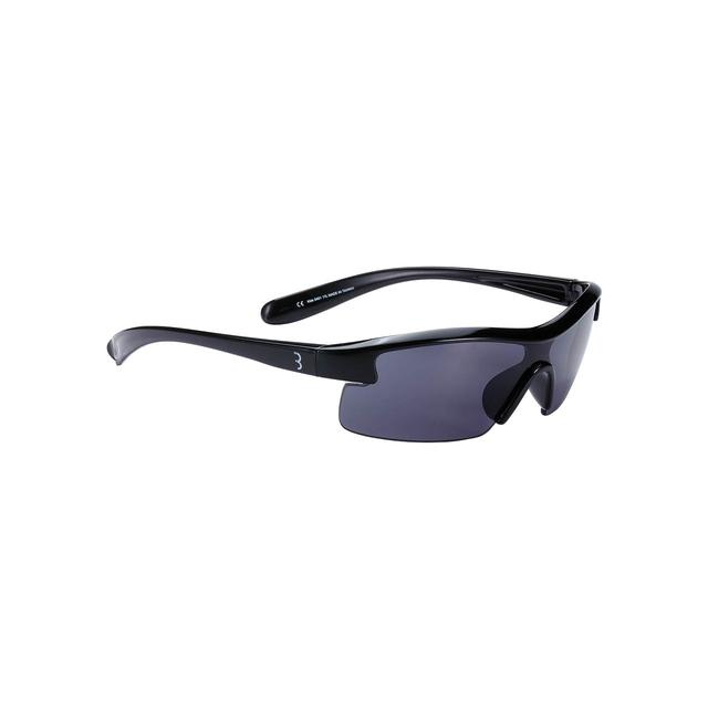 sunglasses Kids PC smoke lens glossy black