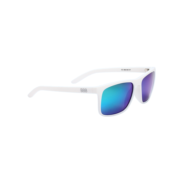 sunglasses Town PZ PC MLC green polarised lenses matt white