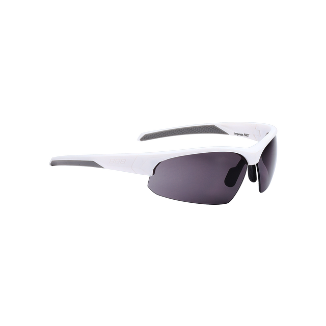 sunglasses Impress, PC smoke lenses matt white
