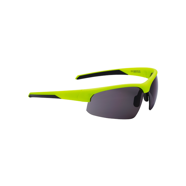 sunglasses Impress, PC smoke lenses matt neon yellow