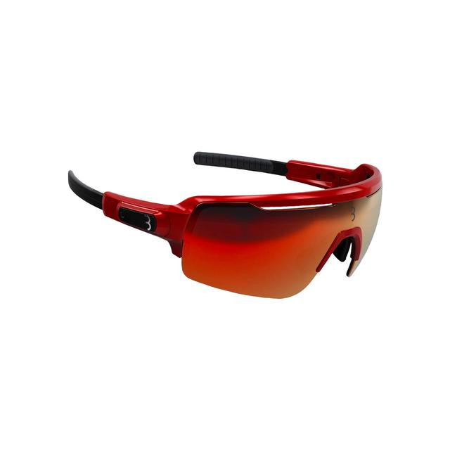sunglasses Commander PC Smoke MLC red lens glossy red metalic