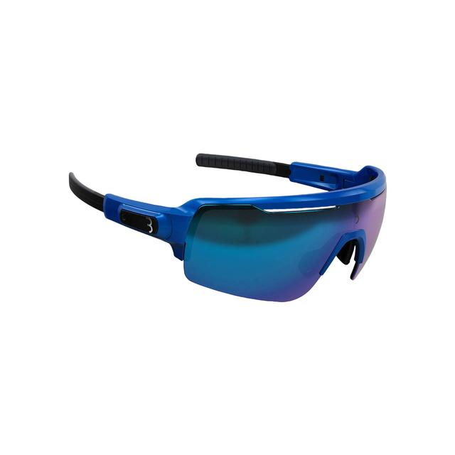 sunglasses Commander, PC Smoke MLC blue lens glossy cobalt blue metallic