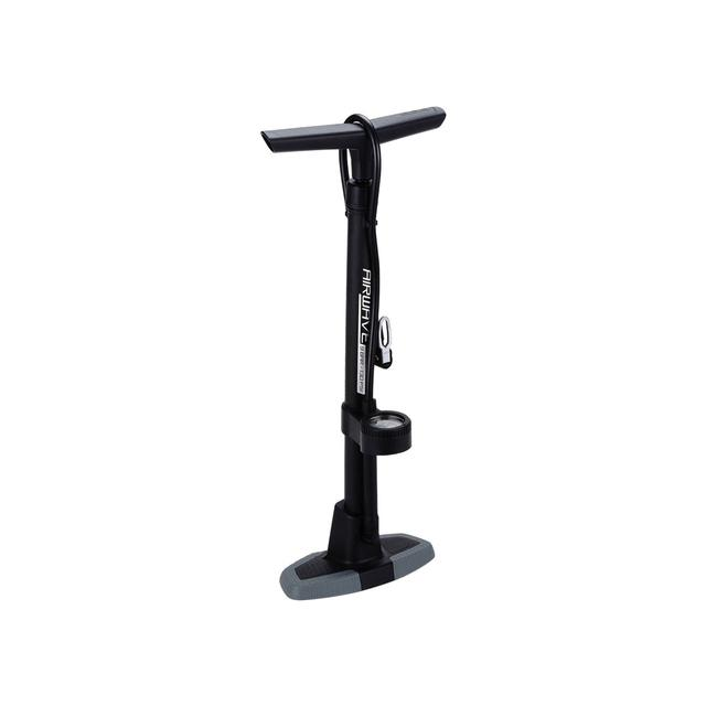 floorpump AirWave composite dualhead 2.0 black/gray