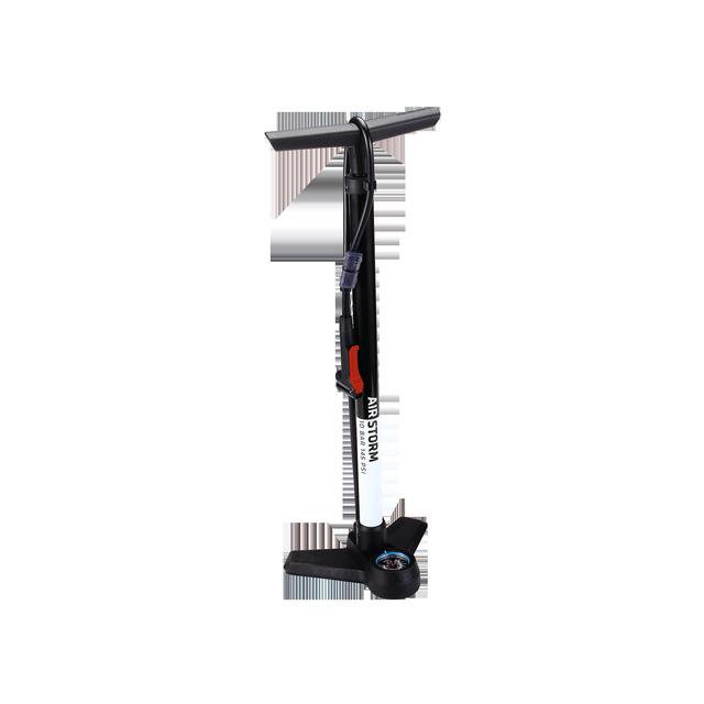 floorpump AirStrom steel dualhead 3.0 black