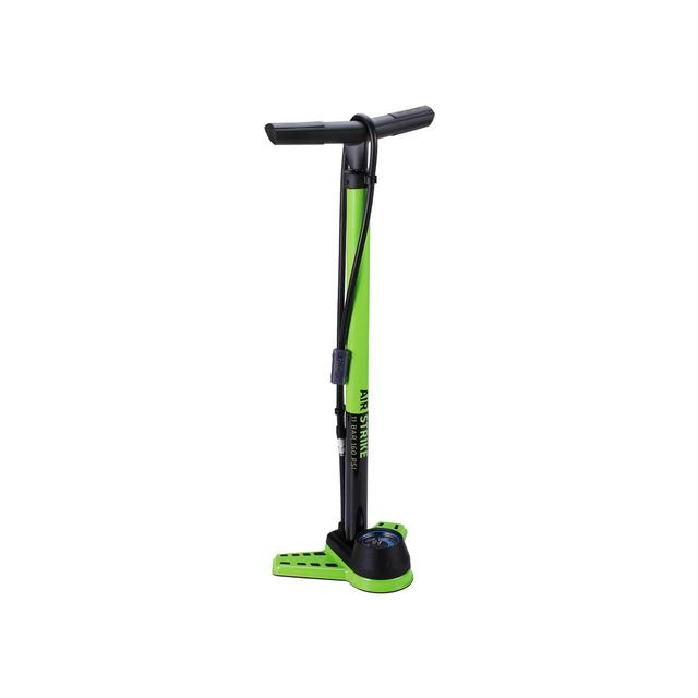 floorpump AirStrike steel 2.5 inch twisthead green