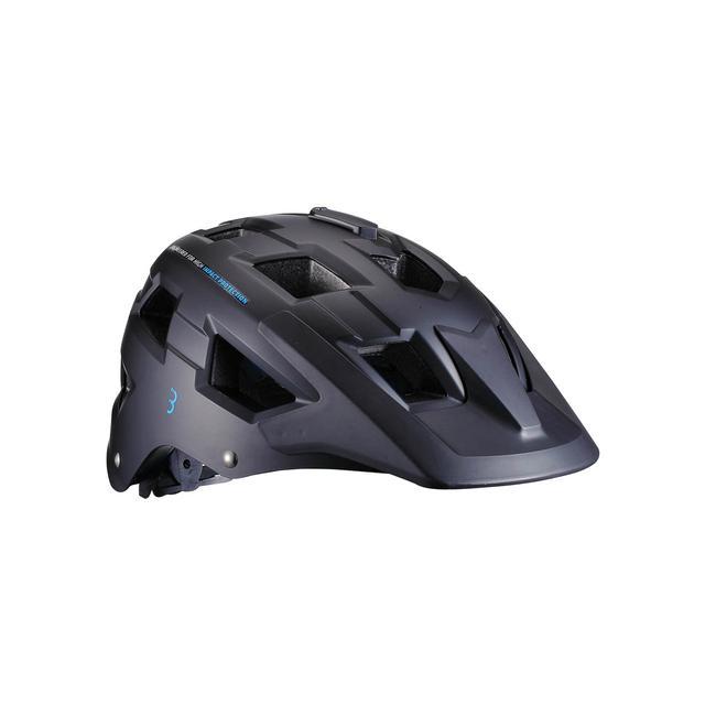 helmet Nanga matt black blue