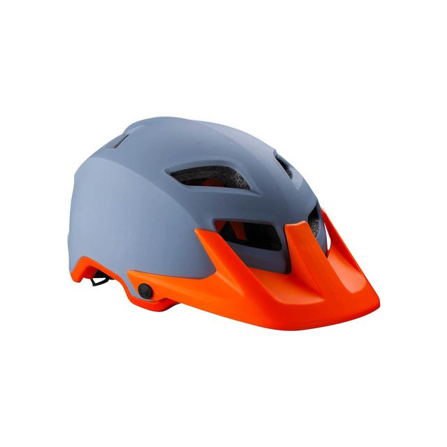 helmet Ore matt gray orange