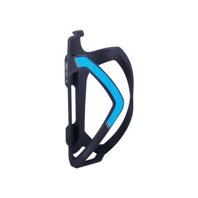bottlecage FlexCage composite matt black blue