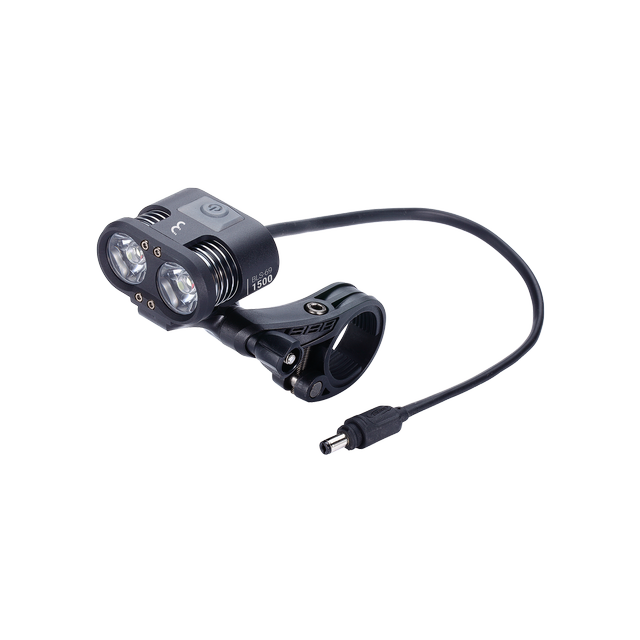 headlight Scope 1500 lumen LED black