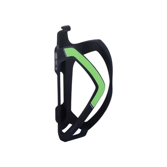 bottlecage FlexCage composite matt black green