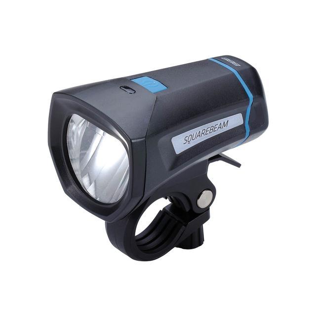headlight SquareBeam Stvzo black 30 LUX 4x AAA