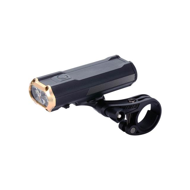 headlight Sniper 1200 lumen LED black