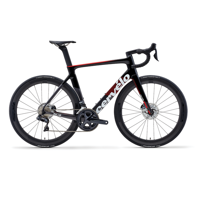 S3 DISC ULTEGRA Di2 GRAPHITE/RED