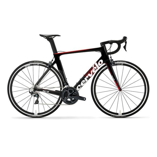 S3 ULTEGRA Di2 GRAPHITE/RED