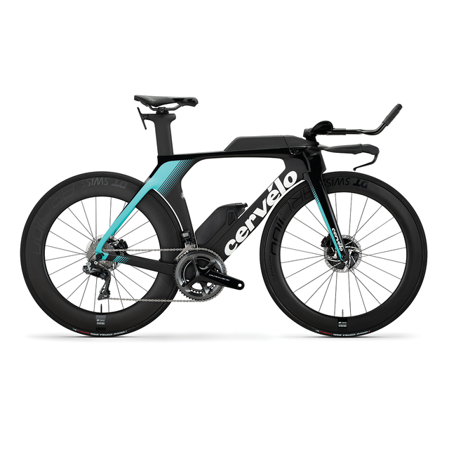 P5 Disc Dura Ace Di2 Black/Light Teal