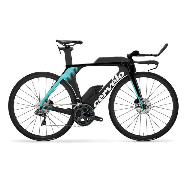 P5 Disc Ultegra Di2 Black/Light Teal