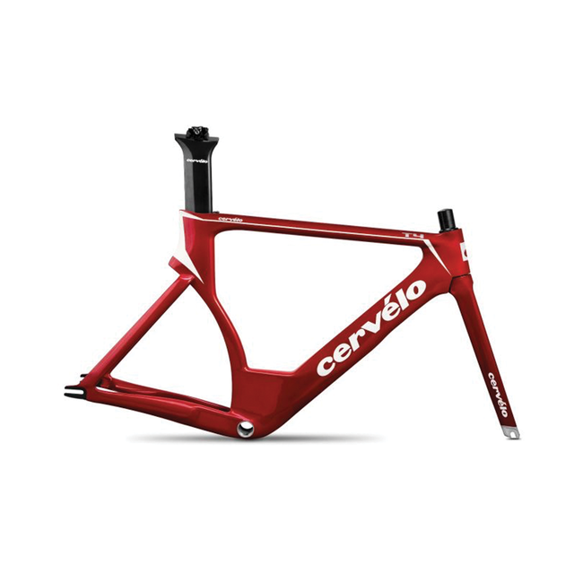 T-Series T4 Frameset Red/White
